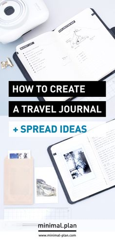 How to start a travel journal? Here's some tips to start a travel journal, with spreads ideas to include + a tour of my last travel journal / travel journal, journaling, Moleskine travel journal, adventure