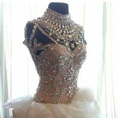 Maricar Reyes' Wedding Gown by Francis Libiran.