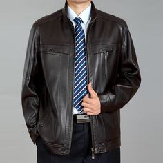 http://fashiongarments.biz/products/mature-men-fashion-top-leather-jacket-solid-large-size-stand-collar-casual-wear-men-jacket-comfortable-coat-casaco-de-couro/,    Mature Men Fashion top  Leather Jacket Solid Large Size Stand Collar Casual Wear Men Jacket Comfortable Coat Casaco de couro   NOTE:  ^ .^ Good Quality & Materials Only    We Do not sell cheap junk Products…When you place the    order,Pls remark your height weight bust and waist size 1st…    ^ .^ More products Welcome to visit my…