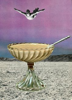 ' Dive in 'Original paper collage / Sammy Slabbinck