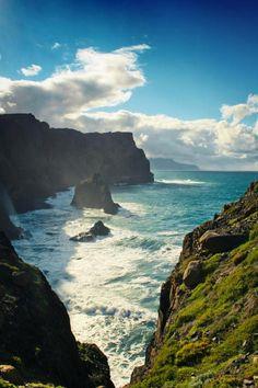 Wild coast of Madeira, Portugal
