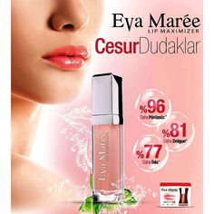Yüz güzelliği için en önemli noktalardan biri olan dudakların her daim bakımlı ve dolgun gözükmesi özellikle birçok kadın için çoğu zaman sorun olmaktadır. Bazen doğuştan ince ve belirsiz dudaklara sahip olmaktan bazen de yaşlanmaya bağlı olarak incelen ve kırışan dokular rahatsız edici hale gelir. Eva Maree Lip Maximizer Dudak Dolgunlaştırıcı doğal dolgun dudaklara sahip olmanızı sağlar.