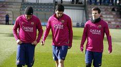 13.02.16 Treino !! #Neymar #Fcbarcelona ⚽