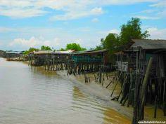 Fishing village near Kuala Selangor. - Fischerdorf #Malaysia