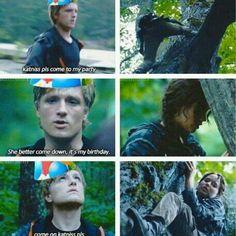 The Hunger Games - Catching Fire - Mockingjay - Katniss Everdeen - Jennifer Lawrence - Peeta Mellark - Josh Hutcherson - Gale Hawthorne - Liam Hemsworth - Books - Movies - Quotes
