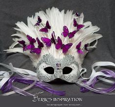 My bridal mask custom made by no other than Erik Attia of Erik's Inspirations. Bridal Mask, Mask Design, Exotic, Masks, Scenery, Bride, Halloween, Inspirational, Beautiful