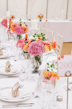 Romantic Secret Garden Coral Wedding