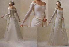 Casando Sem Regras: Vestidos de noiva - medieval