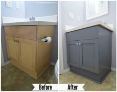 Photo Gallery On Website How To Paint Your Bathroom Vanity The Easy Way