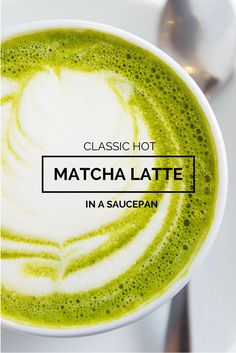 Classic Hot Epic Matcha Green Tea Latte Recipe. There is nothing better than a latte in the morning. Its warm, tastes great and has that signature foam on the top that gives you that little latte mustache.