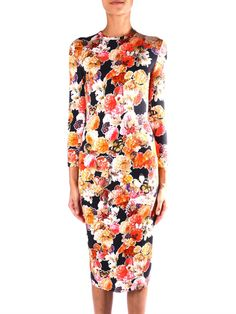 Givenchy Floral-print jersey dress - Not my usual thing but something about it is calling me....
