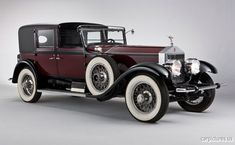 1928 Rolls-Royce Springfield Phantom I Town Car by Hibbard