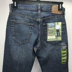 76d307e8 Levi Strauss Signature Jeans Mens 29 x 30 Straight Comfort Fit Medium Wash  Blue #LeviStrauss