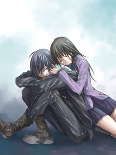 Find images and videos about noragami, yato and hiyori on We Heart It - the app to get lost in what you love. Anime Noragami, Anime Naruto, Yatogami Noragami, Yato And Hiyori, Fanarts Anime, Anime Guys, Anime Characters, Manga Anime, Manga Girl