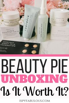 See what I got in my second Beauty Pie box, what the products were like, how much they cost, and if it's worth it! Beauty Pie, My Beauty, Allure Beauty, Beauty Box Subscriptions, Foot Cream, Leave In Conditioner, Dry Hands, Craft Box, Tinted Moisturizer