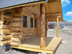 Virginia City Log Cabin