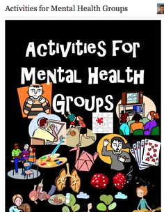 Activities for Mental Health Groups < great ideas