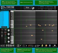 http://digitalshoppingcart.blogspot.in/2013/07/drum-beat-maker_22.html It is one of the best beat maker software. Start Making Awesome Hip Hop, Rap, Dubstep, Dance, Trance, Reggae Beats + More On Any PC Or Mac Today!   Become a Mix Master In Minutes