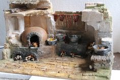 1 million+ Stunning Free Images to Use Anywhere Village Miniature, Miniture Dollhouse, Miniature Houses, Dollhouse Miniatures, Christmas Nativity Scene, Christmas Crafts, Nativity Scenes, Fontanini Nativity, Cartoon House