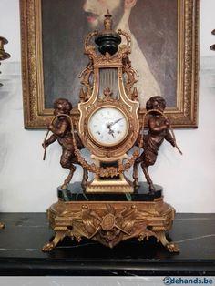 Gebruikt: antieke klok (Klokken & Barometers) - Te koop in Meerhout