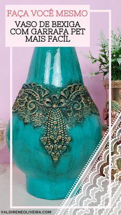 Diy Crafts Room Decor, Vase Crafts, Cement Crafts, Wine Bottle Vases, Bottle Art, Bottle Crafts, Carton Diy, Decoupage Glass, Flower Letters