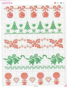 Cross Stitch Stocking, Xmas Cross Stitch, Cross Stitch Bookmarks, Beaded Cross Stitch, Cross Stitch Charts, Cross Stitch Designs, Cross Stitch Embroidery, Cross Stitch Patterns, Cross Stitch Boarders