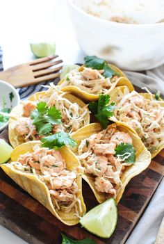 Shrimp and Cabbage Crunchy Tacos - Bev Cooks