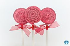 24 Valentine Sour Lolli's. $38.00, via Etsy by Sweets Indeed