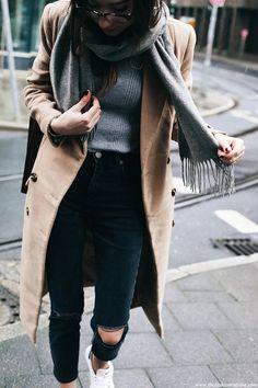 The Camel Coat • The Fashion Cuisine: