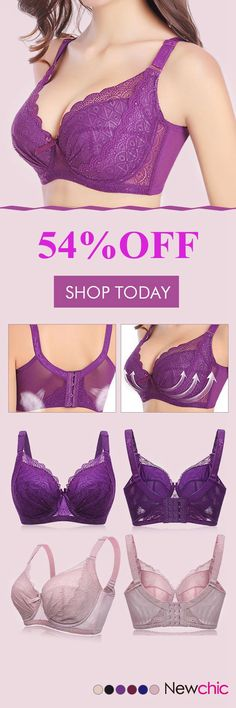 Plus Size Sexy Push Up Minimizer Lace Busty Bras. These are pretty. Plus Size Bra, Plus Size Lingerie, Bra Lingerie, Bustiers, Look Fashion, Fashion Outfits, Womens Fashion, 80s Fashion, Push Up
