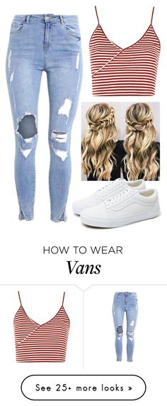 """Inspiration#40"" by cfull on Polyvore featuring Topshop and Vans"