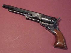 single-action revolver in 1836
