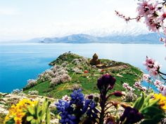 Lake Van in spring Visit Turkey, Eastern Europe, Beautiful Sunset, Cool Eyes, Places To See, National Parks, Around The Worlds, Earth, In This Moment