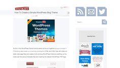 4 Tutorials To Help You Build WordPress Themes | SMFAPLUS - The Online IT Plus Magazine
