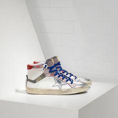 Golden Goose 2.12 Homme - Acheter Golden Goose 2.12 Homme Sneakers Blanc Bleu