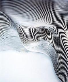 90 degrees studio added a new photo. Principles Of Design, Design Elements, Bussiness Card, Parametric Design, Wave Design, Lorde, Texture Design, Op Art, Textures Patterns