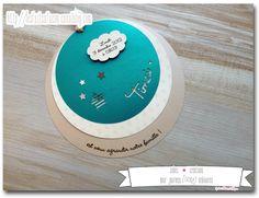 Faire-part de naissance rond thème étoile et nuage - Jolies créations, le blog des Faits à Façon