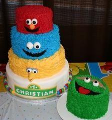 ultimate sesame street cake