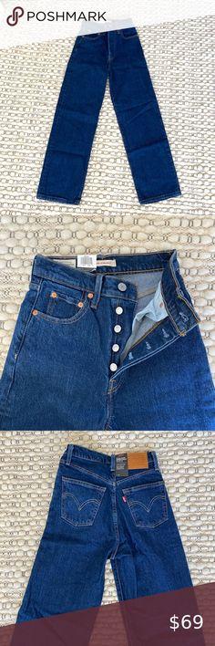 Was: £69 Straight Leg Low Rise Jean DENIM77
