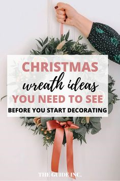 This post has all of the best Christmas wreath ideas that are so easy to recreate! I had so much fun looking at all the different ideas. Christmas Wreaths For Windows, Christmas Decorations For The Home, Diy Christmas, Wreath Ideas, Decor Ideas, Easy, Fun, Hilarious