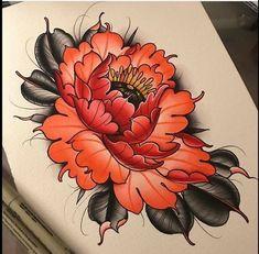japanese flower tattoo - Google Search … | Pinteres…