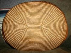 This table tray was made by a member of the Salish Tribe of the Pacific Northwest Coast. Tribal members live in British Columbia, Canada and in Oregon and Washington in the United States. This tray is old, probably from the 1930's or so and it is gorgeous still!  Bottom view of this basket is shown.