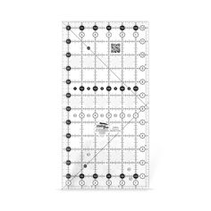 "Creative Grids 6 1/2"" x 12 1/2"" Rectangle Ruler"