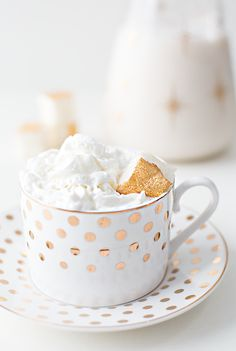 peppermint white hot chocolate with champagne marshmallows