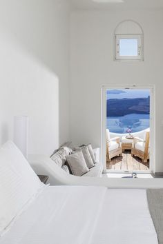 NATIVE ECO VILLA ON THE ISLAND OF SANTORINI, GREECE | THE STYLE FILES