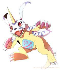 Digimon: Gabumon by Nerior.deviantart.com on @deviantART