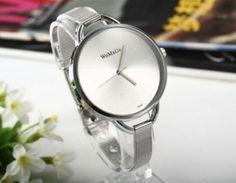 Luxusní dámské hodinky ve stříbrném barevném provedeníPošta Zdarma