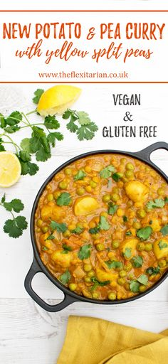 New Potato and Pea Curry [vegan] by The Flexitarian