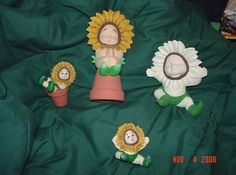 assorted sunflower babies