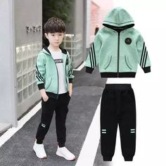 New 2018 Kids Teens Clothes Baby Boy Clothing Sets 4 Colors Autumn Baby Boys Clothes For Kids Jacket Coat+Pants 2 Pieces Suits Outfits Niños, Baby Boy Outfits, Outfits For Teens, Teens Clothes, Baby Boy Clothing Sets, Outfit Sets, Boy Fashion, Rain Jacket, Windbreaker